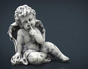 3D asset low-poly Angel