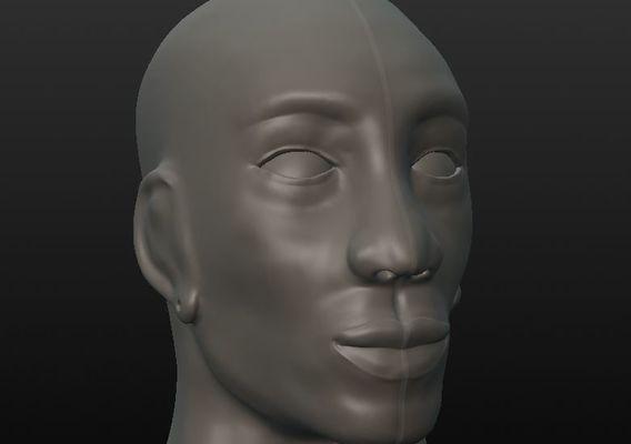 African Male Work in Progress