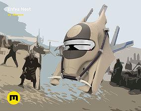 Enfys Nest battle helmet costume 3D print model
