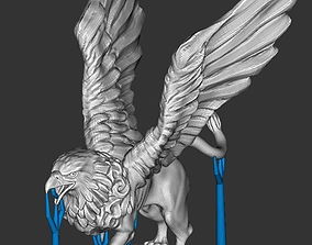 nice-toy 3D print model Griffin