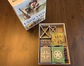 3D print model Undaunted Normandy Board Game
