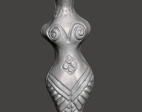 Cucuteni-Trypillian figurine 4 3D model