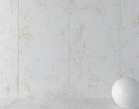 Stone Wall Tiles Troia White 120x270 3D model