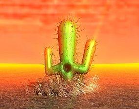 Cactus 3D model VR / AR ready