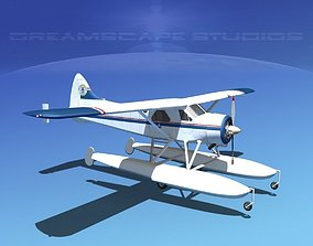 Dehavilland DHC-2 Civil Air Patrol 3D model