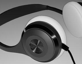 earphone headphone 3D model