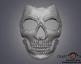 Ghost mask 3D print model