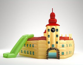 Inflatable Toy Castle 3D model