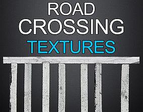 3D model 36 Road Crossing Textures