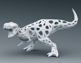 3D PRINTED MODEL T-REX-fisher-net-design