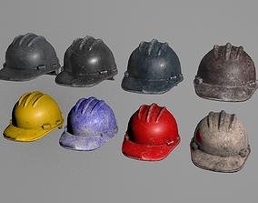 Helmet cutout 3D asset game-ready