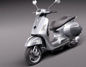 Vespa GTS 300 Super 2011 3D
