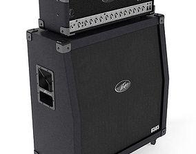 3D Peavey Audio Guitar Amplifier