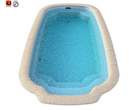 pool 3D Model of A Composite Basin Atlantic