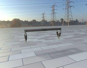 Electricity Poles Insulators 5 - Object 3D model