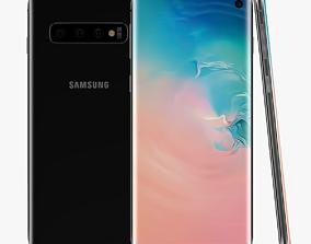 3D model portable Samsung Galaxy S10