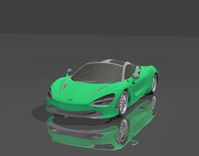 Mclaren 720s 3D asset
