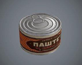 Tin cans 1 3D model