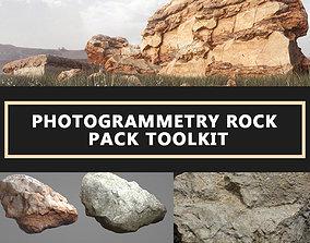 3D model Photogrammetry Rock Pack Toolkit