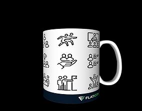 Mug 3d isolate