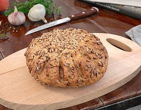 3D model bread 28 AM150