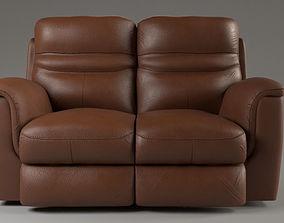 3D model Recliner Sofa