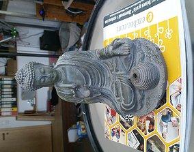 Budda Smoker incense stick 3d-scan