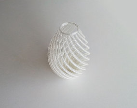 house 3D printable model String Vase
