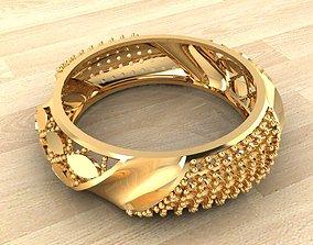 fashion-ring 3D printable model Ring 4