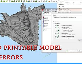 Count Dracula with Wolves for CNC 3D Router