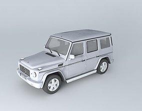 3D Mercedes-Benz G500 Helendwagen