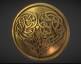 Free Heart Coin 3D Printable Model