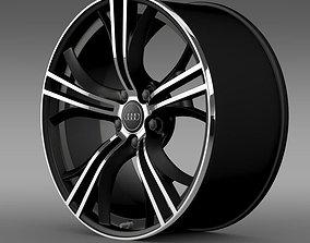 3D Audi R8 V10 Exclusive rim