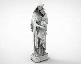 Virgin Mary 3D asset