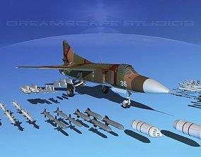 3D Mig 23 Flogger B V05 Russia