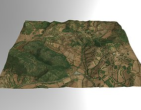 3D model Valley Farming in Southern Spain