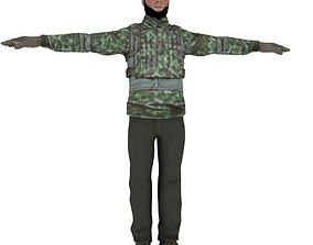 3D model Terrorist Character