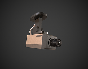 3D asset realtime Security Camera
