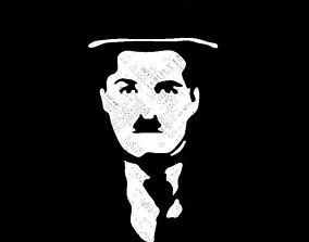 Charlie Chaplin 3D model