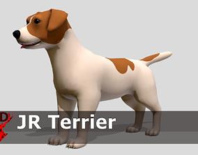 Jack Russell Terrier 3D asset