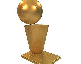 NBA Championship Trophy 3D print model