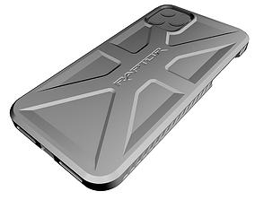 3D print model 11pro iPhone 11 Pro Case Raptor