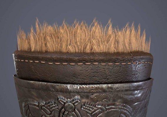 Medieval fur Bracers