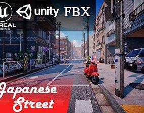 Japanese Street 3D