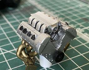 BILLET TOYOTA TT V8 LAND SPEED ENGINE 3D printable model 2