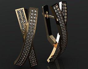 Earrings X 3D printable model