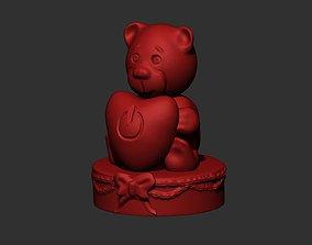 Turn Love Bear 3D print model