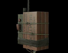 EXPLOSIVES CHARGES model low-poly