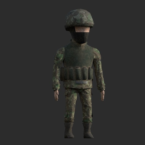 Soldier Russian