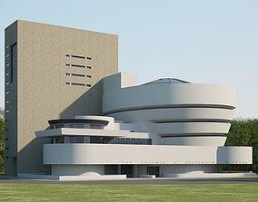 Solomon R Guggenheim Museum 3D
